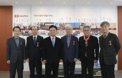 경일대, 정년퇴임 교원 훈·포장 전수