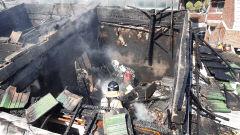 대구 남구 대명동 주택 화재, 60대 화상