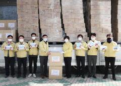 화웨이, 대구시교육청에 마스크 10만장과 손소독제 5만개 기부