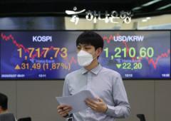 코스피 1.9% 상승 마감…하루 만에 1,700선 회복