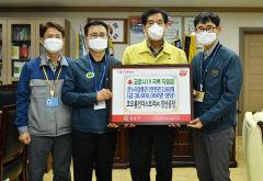 코오롱인더스트리 임직원 일동 온누리상품권 경산시에 기탁.