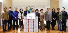 몽골문화경제원, 대구대에 마스크 1,500장 기부
