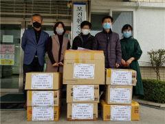 중국문화원-중국문화대학 봉사단,  대구시보건환경연구원에 떡-수건 등 전달