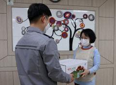 영주경찰서 농산물 팔아주기 운동 전개