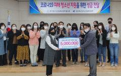 한국청소년상담복지센터협의회, 코로나19 성금 500만원 지원