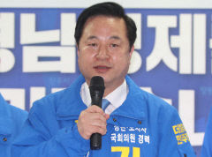 경남 양산을, 민주당 김두관 vs 통합당 나동연 후보 초접전