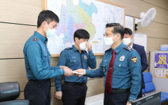 박건찬 경북경찰청장, 봉화경찰서 치안현장 격려 방문