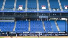 대구 삼성라이온즈파크 무관중 프로야구 경기...25일 삼성-한화 연습경기