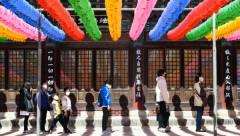 불자들의 '사회적 거리두기'
