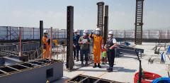 대구동부소방서, 동구청 합동 건축공사장 긴급안전점검