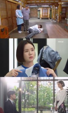 '기막힌 유산' 강세정-박인환 신경쓰여 거실서 잠든 신정윤, 한껏 꾸민 계옥에 눈 못떼