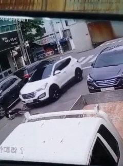 국과수·경찰, 경주 스쿨존 교통사고 현장 검증
