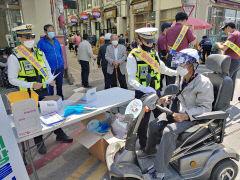 예천경찰, '어르신 1대 1 맞춤형 교통안전교육' 좋은 반응
