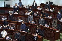 [포토뉴스] 톈안먼 31주년 묵념