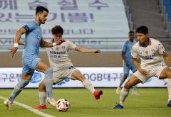 대구FC, 세징야 멀티골과 데얀의 골에 힘입어 수원삼성에 3-1로 역전승