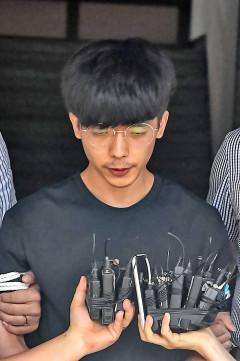 얼굴 공개 '갓갓' 공범 안승진