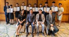 우양산업개발 힐튼경주, 동국대 학생들에게 장학금 전달