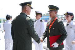 경운대 군사학과 6기 졸업생 37명 전원 육군·해병대 장교 임관