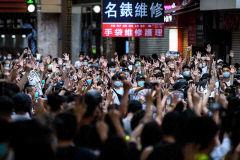 '무소불위 홍콩보안법'…경찰 영장없이 압수수색