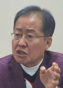 홍준표 의원, 신임 외교안보라인 인선에