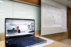 영남이공대, 일본 TownSystem기업 온라인 기업설명회 가져