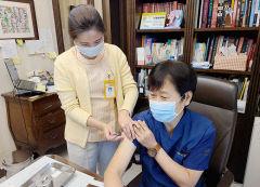 로즈마리병원 전직원 160여명 대상 독감 예방접종