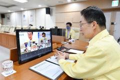 임종식 경북도교육감, 태풍으로 쑥대밭 된 울릉도 교육 지원대책 논의