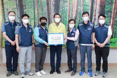 울진군공무원 노동조합, 태풍 수재민 성금 500만원 전달