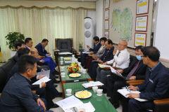 김희국 국회의원과  의성·군위·청송 3개 군 관계자 국비확보 및 군정추진사업 협의