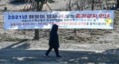 [포토뉴스] 대구 지역 해맞이 행사도 취소