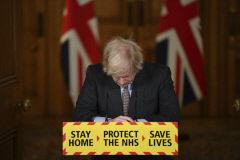 영국, 코로나 사망자 유럽 첫 10만명