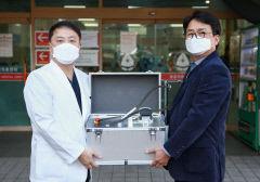 대가대병원 장태창 교수 의료용 세척기 공동 발명