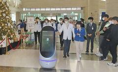 계명대 동산병원 국내 첫 자율주행로봇 도입