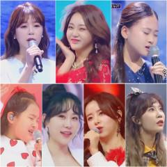 '미스트롯2' 결승전 1라운드 TOP7 신곡 음원차트 올킬…최종회 4일 방송