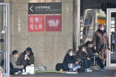 [포토뉴스] 샤넬 오픈 하루 전부터 대기줄