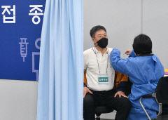 [포토뉴스] 코로나19 화이자 백신 접종 모의훈련
