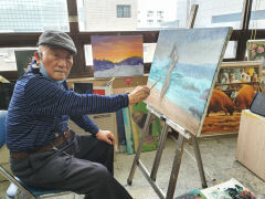 [동네뉴스] 지역탐구와 그림에 빠진 미수의 화가 이해호씨