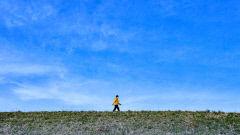 [포토뉴스] 대구의 파란 하늘...산책 즐기는 시민