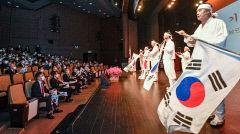 [포토뉴스] 임시정부 요원 기리는 아리랑 공연