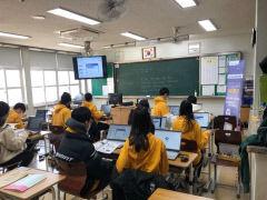 경북교육청, 미래형 무선 인터넷 교실 구축 완료