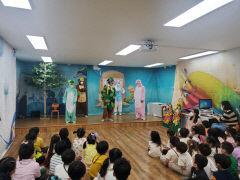유치원 학부모들이 동물극 직접 기획·출연