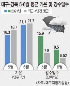 선선한 날씨에 일조량도 줄어…농작물 생산량 저하 우려