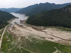 [포토뉴스] 목타는 운문댐