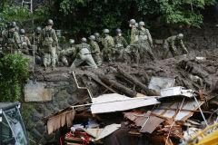 日시즈오카 '폭우 산사태'…야산개발로 피해 키웠다
