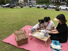 [놓치면 후회!] 수성구립무학숲도서관, 피크닉바구니 빌려주는 '북 & 피크닉' 서비스