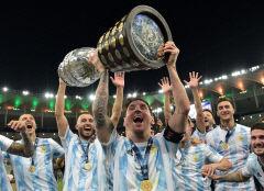 메시, 메이저 우승 한풀이…아르헨티나 28년 만에 코파 정상, MVP도 선정