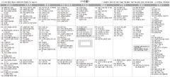 7월16일(금) TV 편성표