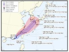 제8호 태풍 루핏 북상, 대구경북에 영향 주나...대구기상청