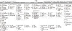 9월4일(토) TV 편성표