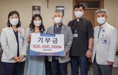 [의료계 소식] 대구가톨릭대의료원, 기부금 5억원 전달받아